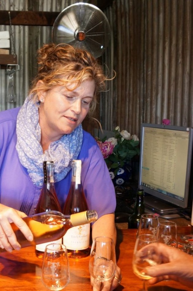 Donelle at Tylers Vineyard, Swan Valley