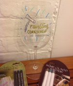Wine Glass Writer Pens