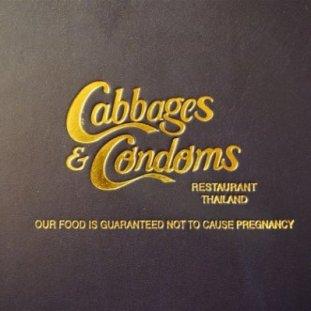 cabbages & Condoms restaurant Bangkok Thailand