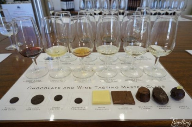 Coward and Black wines and Margaret River chocolate tasting at Providore in Swan Valley Perth