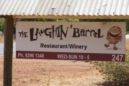 The Laughin' Barrel winery and restaurant in the Swan Valley Perth