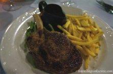 Fillaudeau's Cafe in the Swan Valley steak