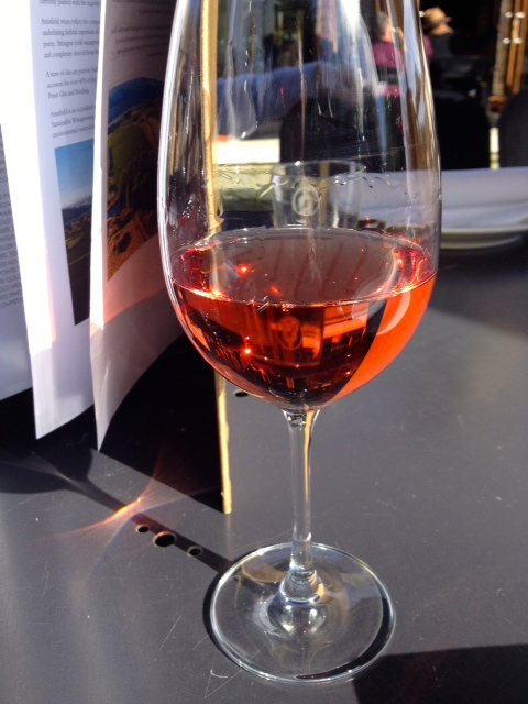Amisfield Winery rose wine