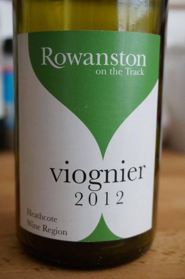 Rowanston on the track Viognier 2012 Heathcote
