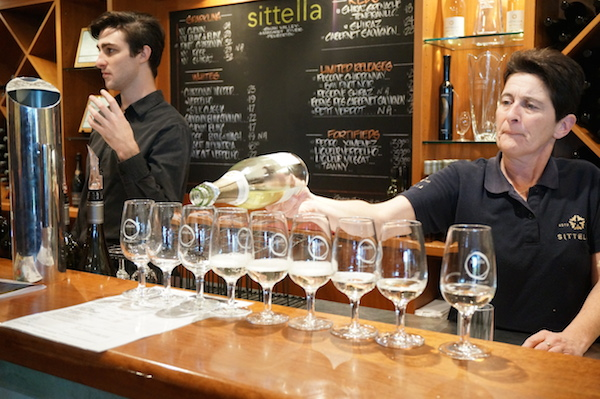 Sittella Wine Tasting Top Gun Tours