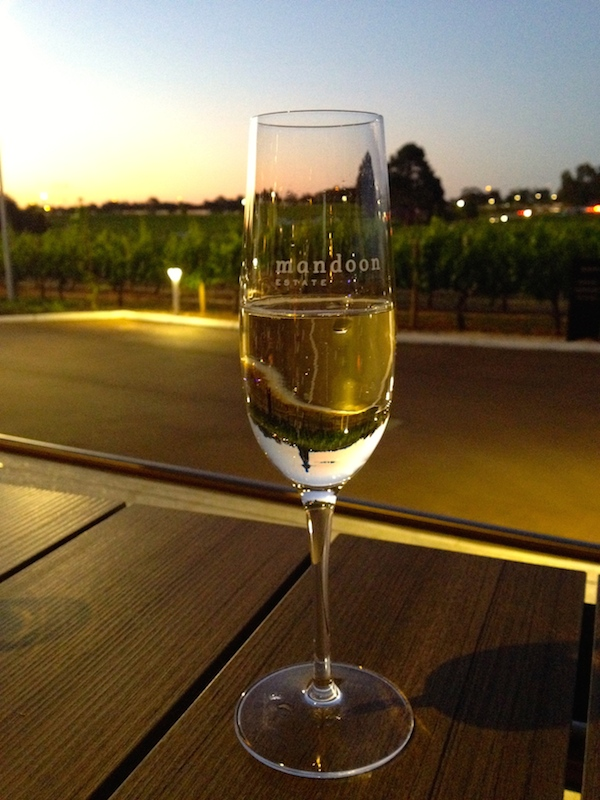 Mandoon Estate & Homestead Brewery Grand Opening - Glass of Bubbles