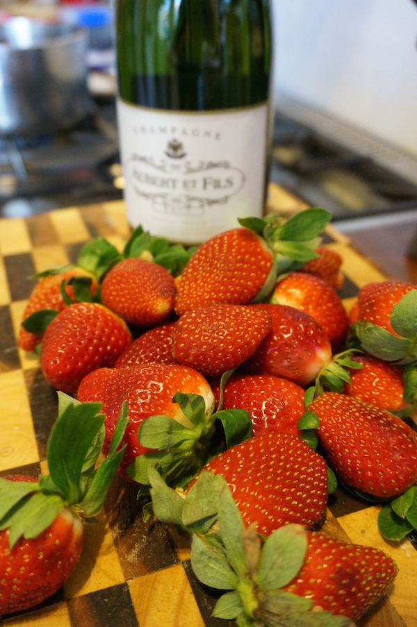 Strawberry Champagne Syrup Recipe