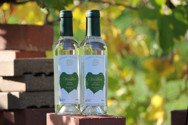 Harris Organic Vodka - Australia's only organic vodka