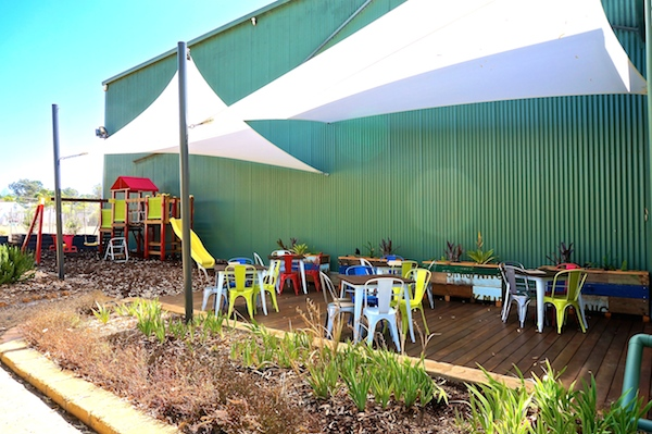 The Shed Cafe at Plantagenet Wines in Mt Barker