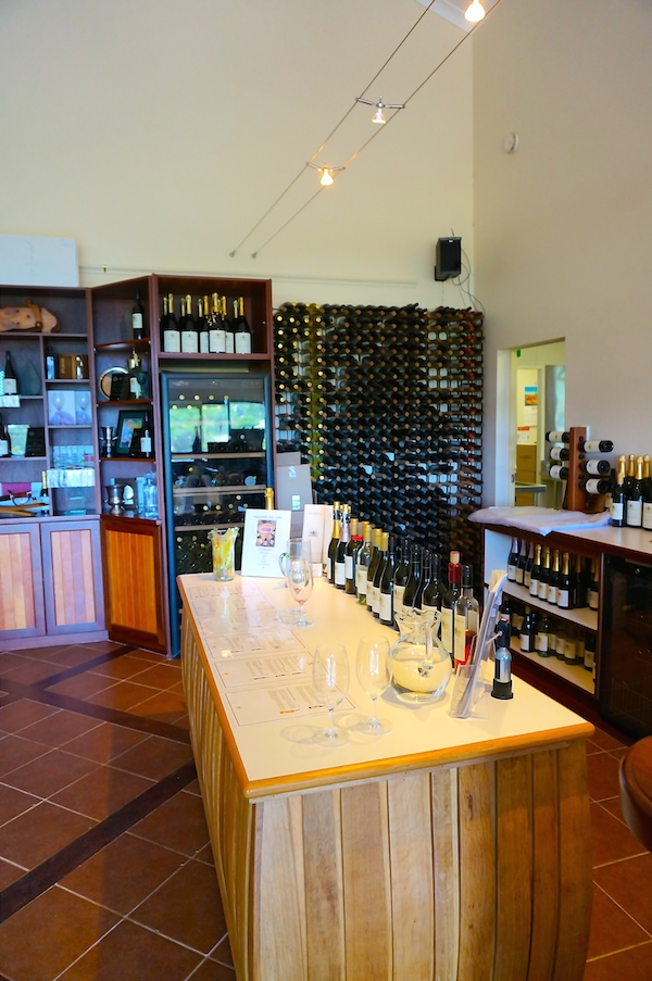 Wine Tasting at the MyattsField Vineyard Cellar Door