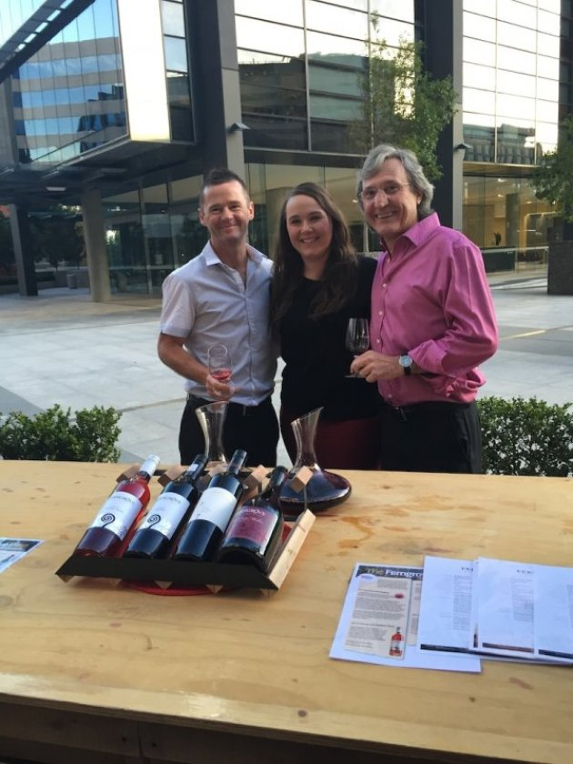 Ferngrove Wines Team at the Malbec World Day Celebrations