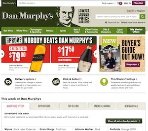 Comparing Online Wine Shopping - Dan Murphy's