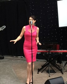 Cathrine Summers Jazz Singer at the Australian Women in Wine Awards 2015