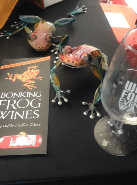 Bonking Frog at Sunset Wine Festival Perth