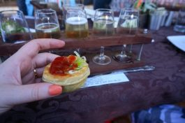 Party Pie at Core Cider House with Explore Tours Perth
