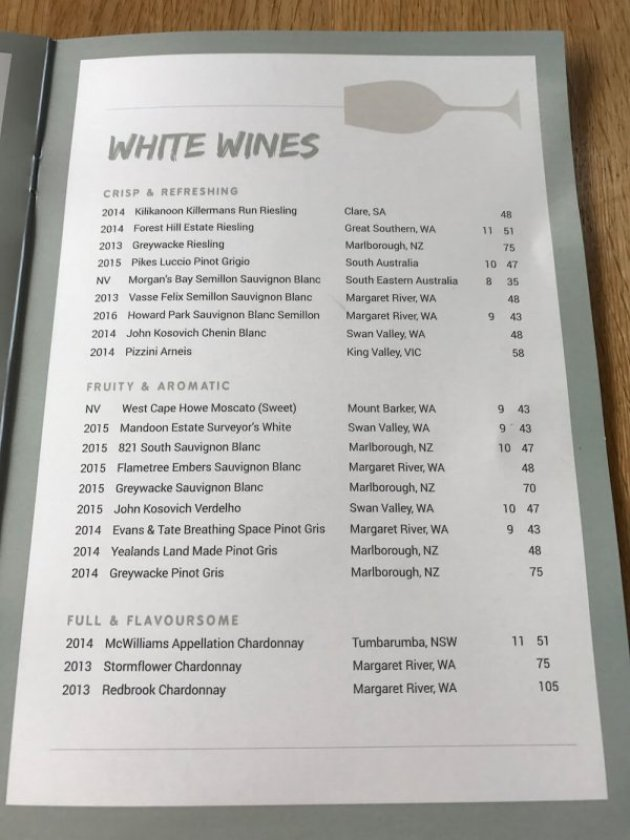 white-wine-menu-at-the-guildford-hotel
