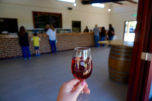 Windy Creek Winery in the Swan Valley