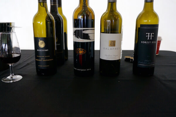 Cabernet Class at the Albany Wine & Food Festival