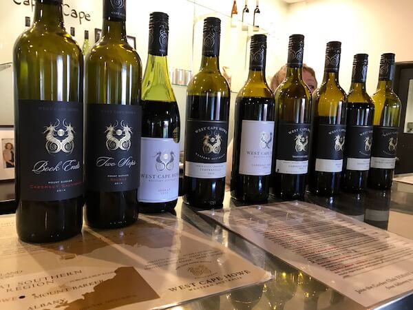 West Cape Howe Wines Red Tasting Lineup
