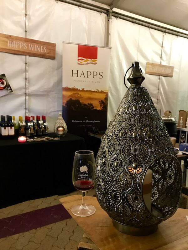 Happs stand at City Wine 2017