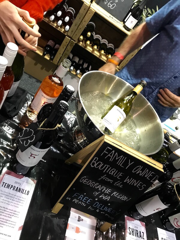 Fifth Estate at Good Food & Wine Show Perth