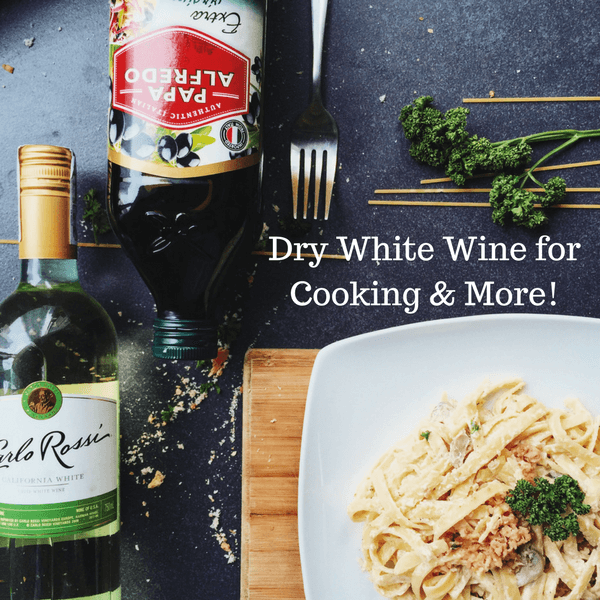Dry White Wine for Cooking & More!