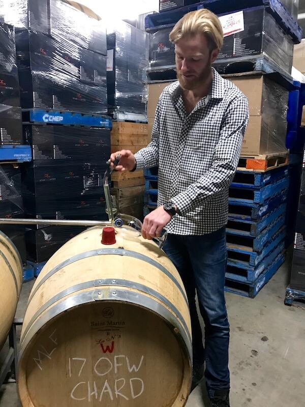Olive Farm Wines - Shaun & Barrel Sample Chardonnay