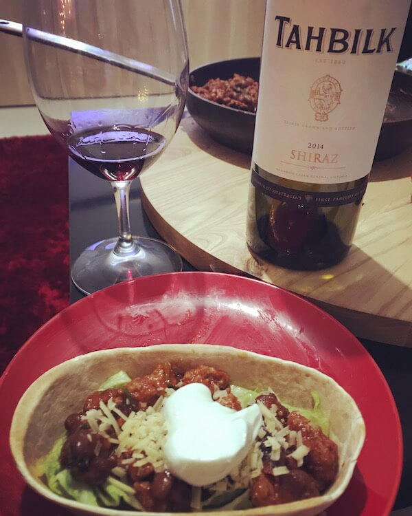 Tahbilk 2014 Shiraz & Pork Tacos