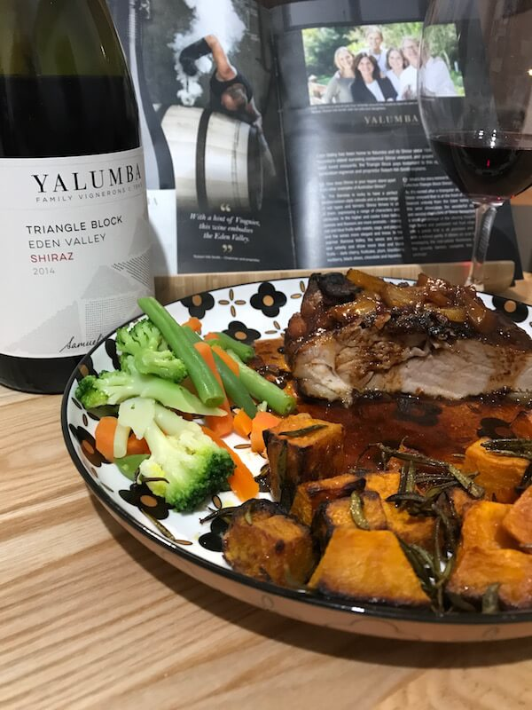 Yalumba 2014 Triangle Block Shiraz & Pork Shoulder