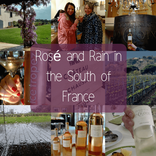 Rose and Rain in the South of France by Nicola Heyes
