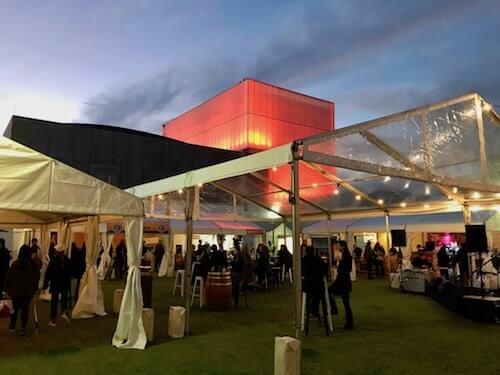Amazing set up at City Wine Perth