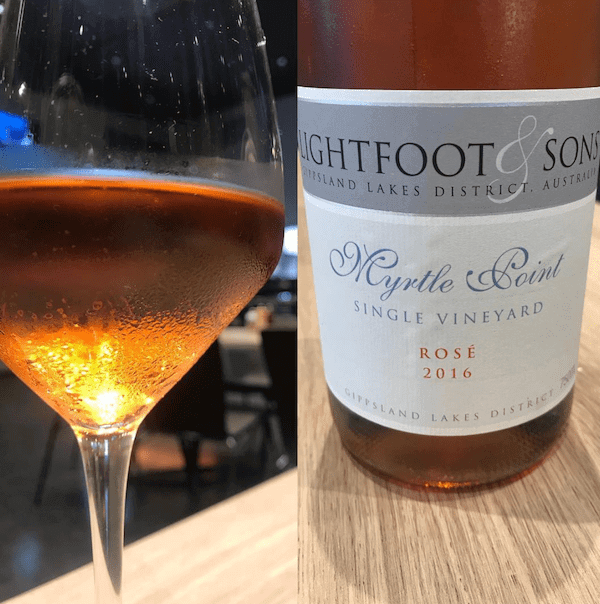 Lightfoot and Sons2016 Myrtle Point Single Vineyard Rose
