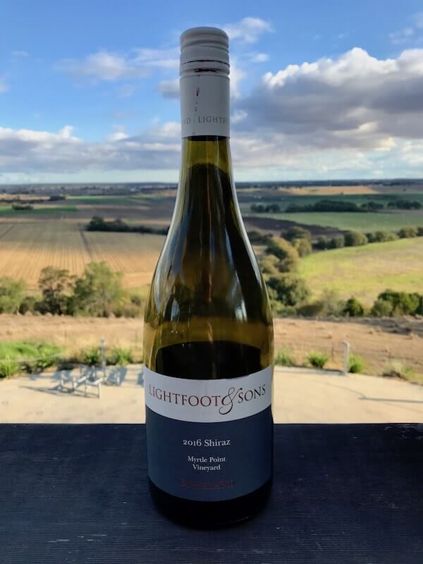 Lightfoot and Sons Shiraz and View