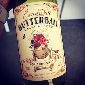 Evans & Taste Butterball Margaret River Chardonnay 2017