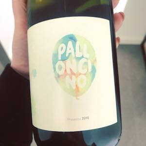 Upstairs Wine Palloncino Prosecco