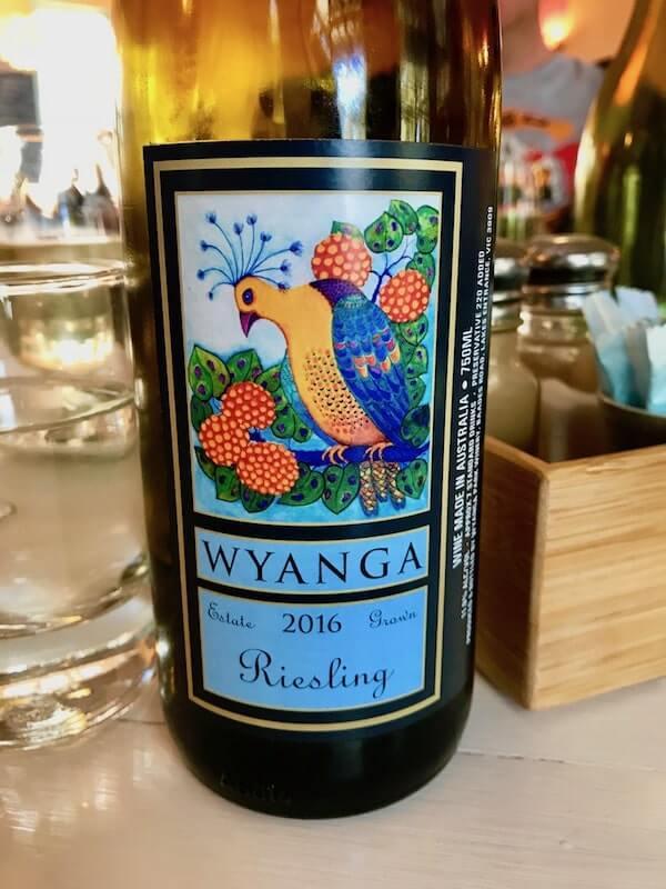 Wyanga Park Winery 2016 Riesling