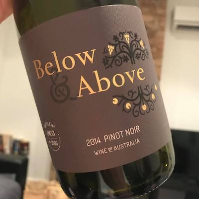 Below And Above Pinot Noir 2014