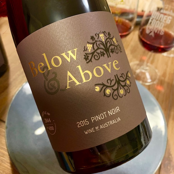 Below and Above Pinot Noir 2015