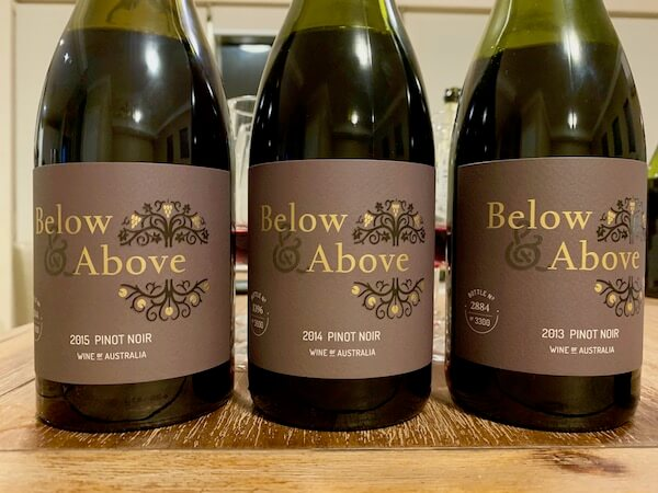 Below and Above Pinot Noir - Vertical Tasting