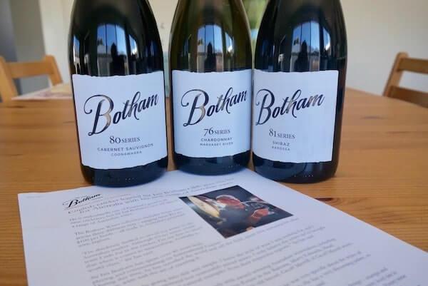 Botham Series Wines