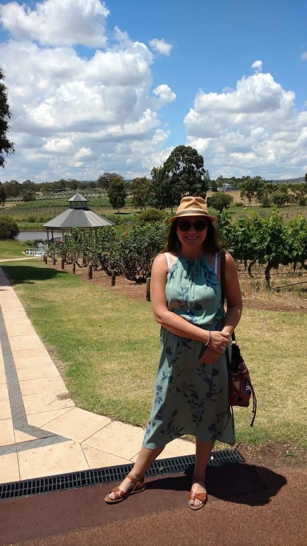 Nicola at Sittella Winery Swan Valley