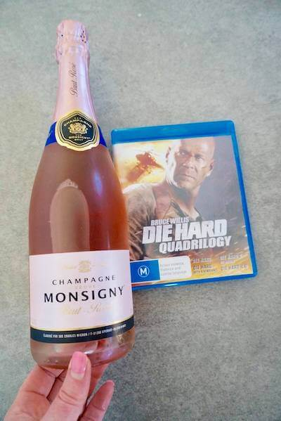 Champagne Veuve Monsigny NV Brut Rose at Aldi