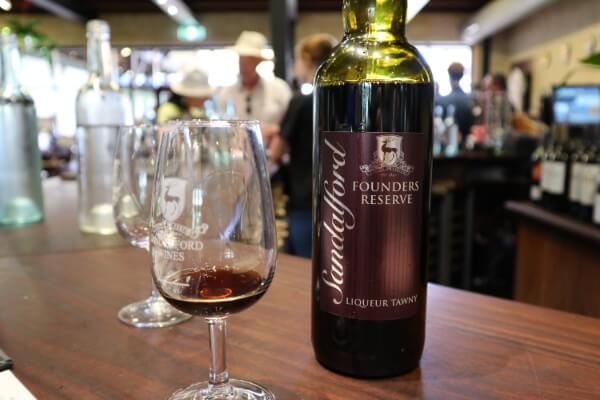 glass-and-bottle-of-founders-reserve-liqueur-tawny-at-sandalford-winery-swan-valley