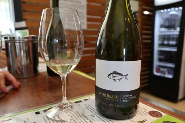 glass-and-bottle-of-reserve-chardonnay-at-upper-reach-winery-swan-valley