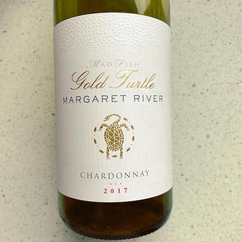 Mad Fish Gold Turtle 2017 Chardonnay Margaret River