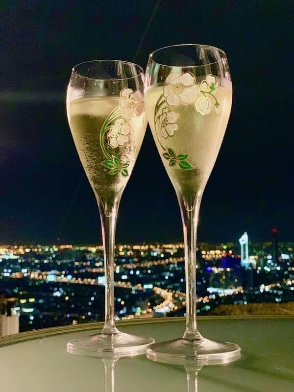 Perrier-Jouet at Flute Champagne Bar at Lebua Bangkok