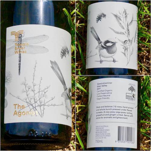 Temple Bruer Wines 2017 The Agonist Gewurztraminer