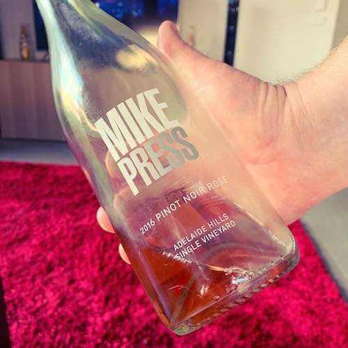 Mike Press 2016 Sparkling Rose