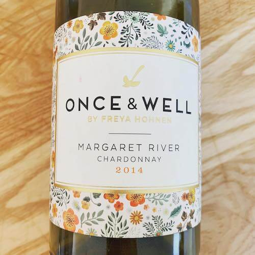 Once and Well by Freya Hohnen Margaret River Chardonnay 2014