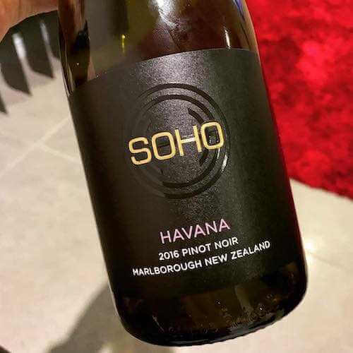 Soho Havana 2016 Pinot Noir